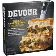 Devour Philly Cheese Steak Grilled Cheese Sandwich, 7.51 Ounce -- 7 per case