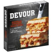 Devour Buffalo Style Chicken Grilled Cheese Sandwich, 7.41 Ounce -- 7 per case