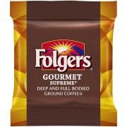 Folgers Gourmet Supreme Coffee, 1.75 Ounce -- 100 per case.