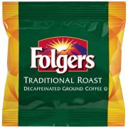 Folgers Decaffeinated Traditional Roast Urn Ground Coffee, 2 Pound -- 12 per case.