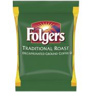 Folgers Decaffeinated Traditional Roast Ground Coffee, 2 Ounce -- 42 per case.