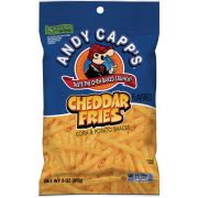 Andy Capps Cheddar Fries, 3 Ounce Bag -- 35 per case