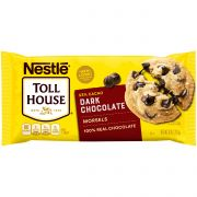 Toll House Dark Chocolate Morsel, 10 Ounce -- 12 per case.
