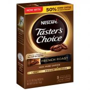 Nescafe Tasters Choice French Roast Instant Coffee, 0.529 Ounce -- 12 per case.