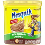 Nesquik Chocolate Powder Beverage Mix, 16 Ounce -- 6 per case.
