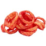 Funyuns Flamin Flavored Hot Onion Rings, 1.25 Ounce -- 64 per case
