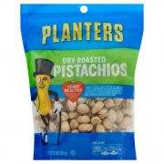 Planters Dry Roasted Pistachio Snacks, 12.75 Ounce -- 6 per case.