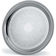 Vollrath Elegant Reflections Round Serving Tray, 12 3/8 inch -- 1 each
