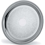 Vollrath Elegant Reflections Round Serving Tray, 18.62 inch -- 1 each