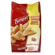 Banquet Cheese and Beef Stuffed Quesadilla Snacks, 26 Ounce -- 6 per case.