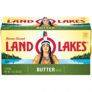 Land O Lakes Salted Butter, 1 Pound -- 18 per case.