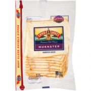 Land O Lakes Muenster Cheese, 8 Ounce -- 12 per case.