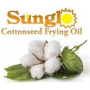Sunglo Cottonseed Frying Oil -- 4 per case.