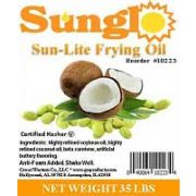 Sunglo Soybean Frying Oil, 35 Pound -- 1 each.