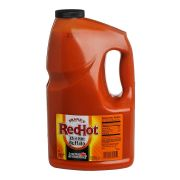 Frenchs Franks RedHot Extra Hot Buffalo Wing Sauce, 1 Gallon -- 4 per case.