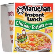 Maruchan Chicken Tortilla Flavor Instant Lunch, 2.25 Ounce -- 12 per case.
