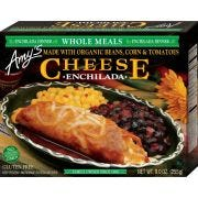 Amys Organic Cheese Enchilada Whole Meal, 9 Ounce -- 12 per case