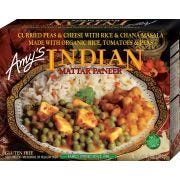 Amys Organic Indian Mattar Paneer Whole Meal, 10 Ounce -- 12 per case