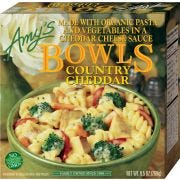 Amys Organic Country Cheddar Bowl, 9.5 Ounce -- 12 per case