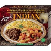 Amys Organic Vegetable Korma Indian Meal, 9.5 Ounce -- 12 per case