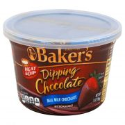 Bakers Real Milk Dipping Chocolate, 7 Ounce -- 8 per case.