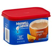 Maxwell House Orange Flavored Cafe Style Instant Beverage Mix, 9.3 Ounce -- 8 per case.