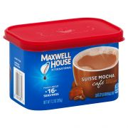 Maxwell House Suisse Mocha Instant Coffee, 7.2 Ounce -- 8 per case.