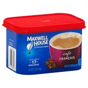 Maxwell House Francais Cafe Style Instant Beverage Mix, 7.6 Ounce -- 8 per case.