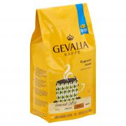 Gevalia Espresso Roast and Ground Coffee, 12 Ounce -- 6 per case.