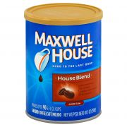Maxwell House Coffee House Blend Coffee, 10.5 Ounce -- 6 per case.