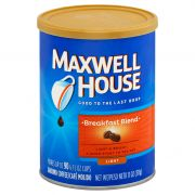 Maxwell House Breakfast Blend Coffee, 11 Ounce -- 6 per case.