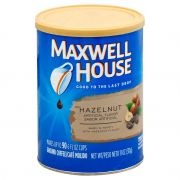 Maxwell House Hazelnut Ground Coffee, 11 Ounce -- 6 per case.