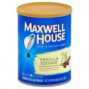 Maxwell House Vanilla Ground Coffee, 11 Ounce -- 6 per case.