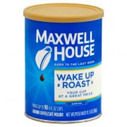 Maxwell House Wake Up Roast Ground Coffee, 11.5 Ounce -- 6 per case.