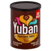Yuban Traditional Medium Roast Ground Coffee, 12 Ounce -- 6 per case.
