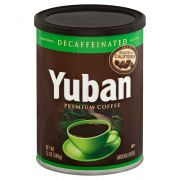 Yuban Original Decaffeinated Coffee, 12 Ounce -- 6 per case.