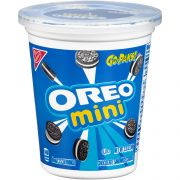 Oreo Go Paks Mini Sandwich Cookies, 3.5 Ounce -- 12 per case.