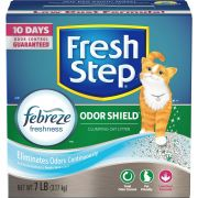Fresh Step Odor Shield Scented Scoopable Cat Litter, 7 Pound -- 6 per case.