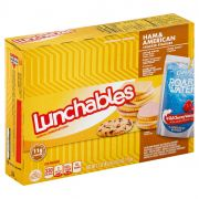 Lunchable Ham and American Cheese with Capri Sun Convenience Meal, 9.1 Ounce -- 8 per case.
