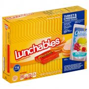 Lunchable Turkey and Cheddar Cracker Stackers with Capri Sun, 8.9 Ounce -- 8 per case.