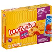 Lunchable Chicken Nuggets with Capri Sun Convenience Meal, 9.8 Ounce -- 8 per case.