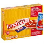Lunchable Single Serve Pepperoni Pizza Convenience Meal, 10.7 Ounce -- 8 per case.