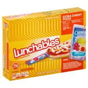 Lunchable Cheese Pizza with Capri Sun Convenience Meal, 10.6 Ounce -- 8 per case.