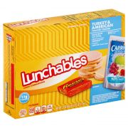 Lunchable Turkey and Cheese with Capri Sun Convenience Meal, 8.9 Ounce -- 8 per case.
