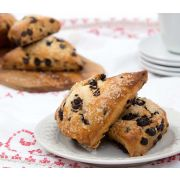 Davids Thaw and Serve Chocolate Chip Scones, 4 Ounce -- 20 per case
