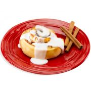 Davids Cookies Iced Baked Cinnamon Roll, 6 Ounce -- 24 per case.