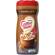 Coffee Mate Caramel Latte Creamer Powder, 15 ounce -- 6 per case
