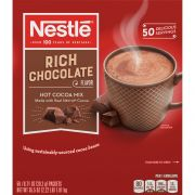 Nestle Rich Hot Cocoa Beverage Mix, 0.71 Ounce -- 300 per case.