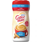 Coffee-Mate  Fat Free Originial Powder Creamer - 16 oz. canister, 12 canisters per case