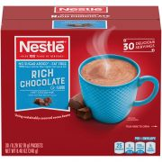 Nestle No Sugar Added Rich Chocolate Flavor Hot Cocoa Mix, 0.28 Ounce -- 180 per case.
